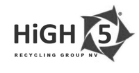 Logo High 5 zwart